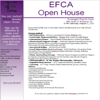 EFCA Open House