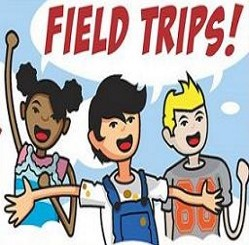 Field Trips Nov 3rd, Dec 1st and Dec 8th